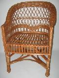 Fotel wiklinowy firmowy. 59x60x42/82, siedzisko: szer.45, g³êb. 43