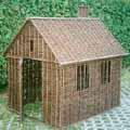 Domek wiklinowy. 160x130x155