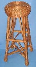 Taboret barowy ¶red. siedziska 33, wys. 85, do podnó¿ka 38, rozstaw nóg 38x38