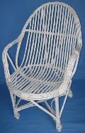 Fotel - Student, malowany. 60x62, wys 43/63/93, ¶redn. siedziska 46