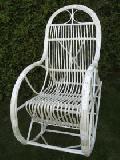 Fotel bujany wiklinowy d³.szer.wys. 115x60x/110,siedzisko: 48x45, wys. opar.80