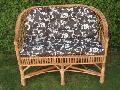 Kanapa z poduszk± 105 x 65 x 42/78, siedzisko szer 88 g³b. 44